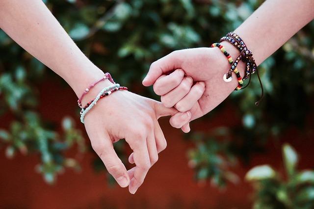 přátelství dívek